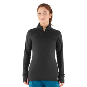 Fitness The perfect protection for between the seasons, this jacket delivers just the right amount of warmth without getting in your way. Built from a seriously lightweight material that moves with you, you wont have to sacrifice comfort for performance ever again. Slightly textured brushed back knit fabric delivers super-soft comfort mile after mileSignature Moisture Transport System wicks sweat to keep you cool, dry, and lightLightweight, 4-way stretch fabrication improves range of motion and dries fasterSmooth flatlock seams and raglan sleeves unlock mobility for chafe-free comfortComfortable 1/4-zip design with zipper garage at neck for on-demand ventilationThumbholes keep sleeves secure and help seal in your body heatHidden zippered pocket along right back seam for easy, secure access to your stuffSlight drop tail design ensures extra coverage while training360deg reflectivity adds extra visibility during low-light conditionsPolyester/ElastaneImported - $40.99