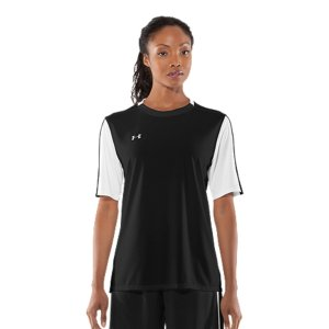 Fitness Performance product built specifically for game dayBreathable poly fabrication keeps your fast and focusedSignature Moisture Transport System wicks sweat to keep you dry and lightLightweight, 4-way stretch construction improves mobility and accelerates dry timeClassic colorblocking on sleeves and collar100% PolyesterImported - $22.99