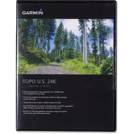 Camp and Hike The Garmin MapSource Topo microSD card lets you add richly detailed topographic maps of California and Nevada to your Garmin GPS receiver. - $89.95
