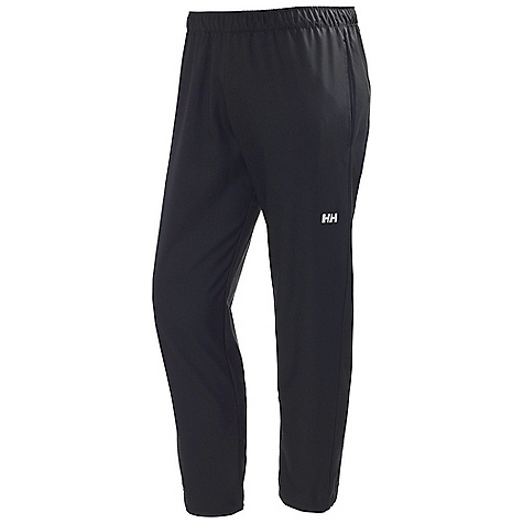 Free Shipping. Helly Hansen Men's Active Training Pant DECENT FEATURES of the Helly Hansen Men's Active Training Pant Light weight stretch fabric Relaxed fit Elastic waist band with adjustable cord The SPECS Fitting: Regular 100% Polyester This product can only be shipped within the United States. Please don't hate us. - $64.95