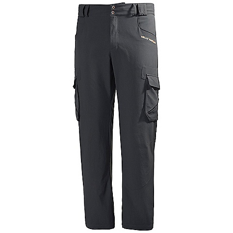 Free Shipping. Helly Hansen Men's Odin Series Cargo Pant DECENT FEATURES of the Helly Hansen Men's Odin Series Cargo Pant Quick dry fabric Polyamide Oxford weave UPF 30+ Cargo pockets Hand pockets Back pockets Belt loops Two button front Articulated knees Helly Hansen logo on thigh The SPECS Fitting: Regular 100% Polyamide This product can only be shipped within the United States. Please don't hate us. - $89.95