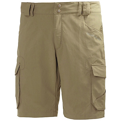 Free Shipping. Helly Hansen Men's Odin Series Cargo Short DECENT FEATURES of the Helly Hansen Men's Odin Series Cargo Short Quick dry fabric Polyamide Oxford weave UPF 30+ Cargo pockets Hand pockets Regular fit Back pockets Belt loops Helly Hansen logo The SPECS Regular fit Fabric Weight: 206 g/m2 100% Polyamide This product can only be shipped within the United States. Please don't hate us. - $74.95