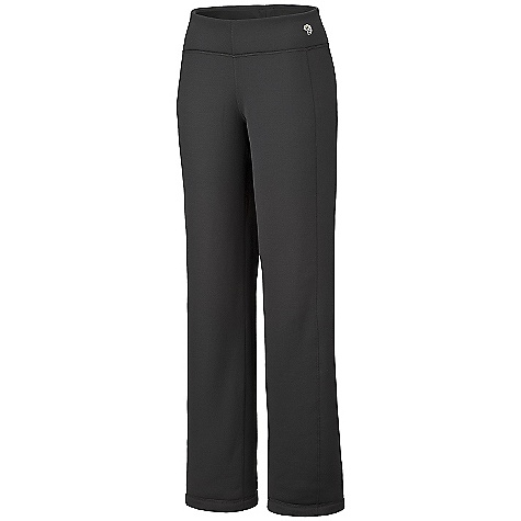 On Sale. Free Shipping. Mountain Hardwear Women's Power Pant DECENT FEATURES of the Mountain Hardwear Women's Power Pant Polartec Power Stretch breathes, insulates and stretches. Snag resistant, smooth exterior slides easily under shell pants Flat-lock construction eliminates chafe The SPECS Average Weight: 10 oz / 270 g Inseam: 32in. / 81 cm Fabric: Body: Polartec Power Stretch (88% polyester, 12% elastane) - $37.99