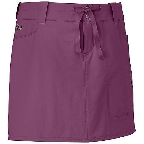 On Sale. Free Shipping. Outdoor Research Women's Ferrosi Skort FEATURES of the Outdoor Research Women's Ferrosi Skort Water Resistant Wind Resistant Breathable Durable Stretch Inner Short Front Jean Pockets Zippered Side Pocket - $49.99