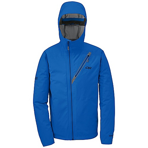 On Sale. Free Shipping. Outdoor Research Men's Transonic Jacket DECENT FEATURES of the Outdoor Research Men's Transonic Jacket Waterproof Breathable Lightweight Fully Seam Taped Water-Resistant Zippers Fully Adjustable Hood Fits Over Helmet Adjustable Wire-Brimmed Hood in.Haloin. Hood Closure Asymmetrical Front Zipper Mobile Device Pocket Inside Napoleon Pocket Half Elastic Cuff Closures Drawcord Hem The SPECS Weight: (L): 11.9 oz / 336 g Fit: Trim Center Back Length: 30in. / 76 cm Gore-Tex Active 3L, 100% nylon 20D This product can only be shipped within the United States. Please don't hate us. - $208.99