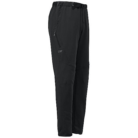 Free Shipping. Outdoor Research Men's Supercharger Pant DECENT FEATURES of the Outdoor Research Men's Supercharger Pant Water Resistant Quick Drying Wind Resistant Breathable Lightweight Internal Webbing Belt Pull On with Fly Low-Profile Waist Fits Under Harness Front Slash Pockets Zippered Thigh Pocket Articulated Knees Tapered Leg Drawcord Ankle Adjustments Zippered Rear Ankle Gusset Internal Loops for Instep Lace DWR Coated Zipper The SPECS Weight: (L): 14.6 oz / 413 g Fit: Trim Inseam: 31 1/2in. / 80 cm 100% Polyester, Stretch Woven Schoeller Fabric with Nanosphere Technology This product can only be shipped within the United States. Please don't hate us. - $124.95