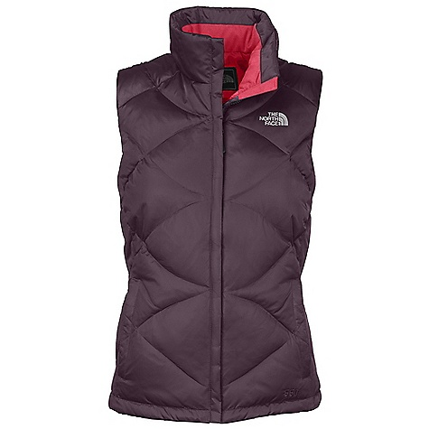 Free Shipping. The North Face Women's Aconcagua Vest DECENT FEATURES of The North Face Women's Aconcagua Vest Zip-in compatible integration with complementing garments from The North Face Brushed internal collar Two secure zip hand pockets The SPECS Average Weight: 17.64 oz / 500 g Center Back Length: 25in. Body: 50D 94.9 g/m2 (2.8 oz/yd2) satin nylon with DWR Insulation: 550 fill goose down This product can only be shipped within the United States. Please don't hate us. - $98.95