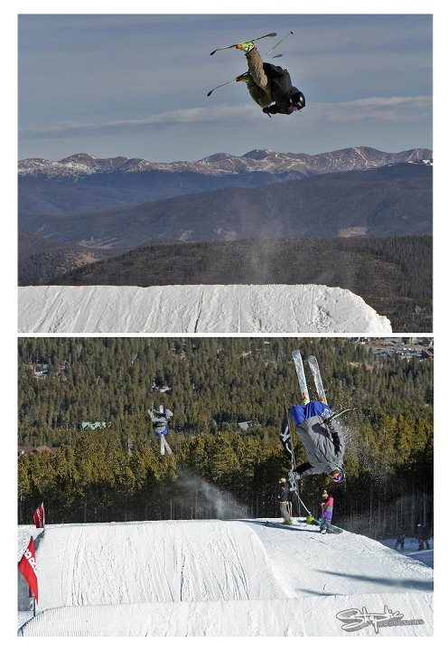 Ski Thanks to Skeptic Productions for sending these photos of Obermeyer athlete, Sean Richards, skiing at Breckenridge. #Breckenridge #Obermeyer #ski