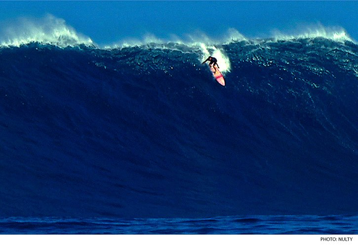 Surf Alex Gray and Dave Wassel trek to Maui to paddle into the final monster swell of the year