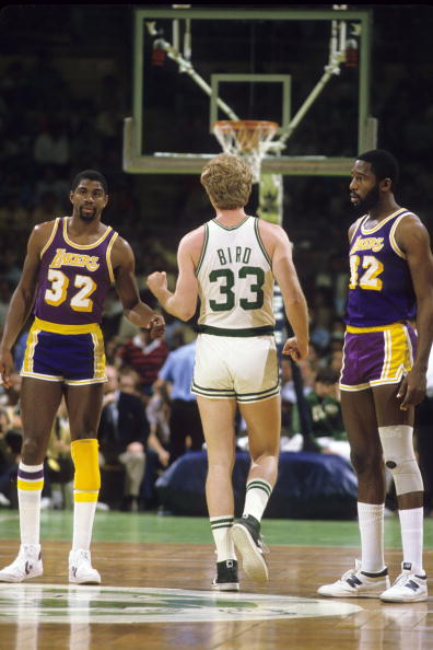 Sports #Magic Johnson #Larry Bird #James Worthy