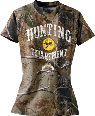 Hunting Your youthful buck hunter is sure to love this fun print. Made of durable 60/40 cotton/polyester. Machine washable. Imported. Sizes: S-XL.Camo pattern: Realtree AP. - $14.88