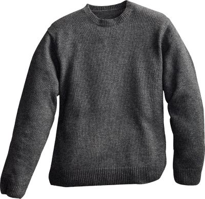 This casual Cabelas Classic Ragg Wool Sweater combines the insulation of wool with the durability of nylon for ultrawarm comfort and long-wearing dependability. Classically finished with a comfortable, reinforced rib-knit crew neckline, waist and cuffs. 80/20 wool/nylon. Imported.Tall sizes: L-3XL.Colors: Buffalo Heather, Evergreen Heather, Tan Heather, Dark Tobacco, Charcoal. Type: Sweaters. Size: 2 X-Large. Color: Charcoal. Size 2xl. Color Charcoal. - $14.88