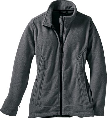 Inside and out, this bulk-free jacket delivers the brushed-for-softness and warmth-retaining power of microfleece. Wear alone or zip it into the EXV Parka as an extra-cozy layer against cold, rainy weather (Parka not included). Updated with a sleek, feminine cut. Two-sided antipilling. Zippered lower handwarmer pockets and elastic cuffs. 100% polyester. Imported. Sizes: S-2XL. Color: Thunder Gray. - $24.88