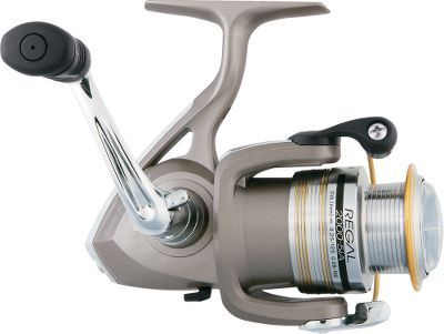 Fishing This is the go-to spinner reel for those who want smooth performance at an affordable price. It has advanced features like Twist Buster to reduce line twist and Advanced Locomotive Levelwind to wrap the spool evenly. Fitted with Digigear digitally designed stainless and bronze alloy gears. Five ball bearings and one roller bearing. Chrome-plated, one-touch folding handle. - $19.88