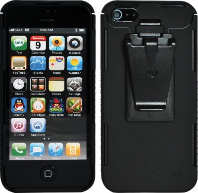 Entertainment Made of high-grade, shatterproof polycarbonate, the Connect Case is slim, lightweight, durable and practical. It offers serious protection from everyday wear and tear, dependable shock absorption and a unique design that keeps your iPhones features accessible at all times. The top easily opens and snaps securely closed with a flex-hinge design. Slim construction allows you to dock it on compatible electronic devices. The included Connect Clip allows you to conveniently attach your phone to pockets, straps or belts. A custom-fitted anti-fingerprint clear screen protector (included) makes it even easier to use and navigate your iPhone.Dimensions: 5H x 2.46W x .9D.Camo pattern/colors: Black, Pink, Olive. Color Pink. - $27.99