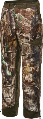 "Hunting Slip on these 300-weight performance fleece pants when the temperature drops and game is moving. The durable 7.5-oz. bonded-polyester, hard-face-fleece exterior combined with a Sherpa fleece interior forms an impenetrable barrier to wind and weather. Quick-dry lining wicks and evaporates moisture. Spacious cargo pockets. Zippered leg openings with adjustable cuffs. Imported.Inseam: 32"".Even waist sizes: 32-42.Camo patterns: Realtree AP , Mossy Oak Break-Up Infinity . - $64.88"