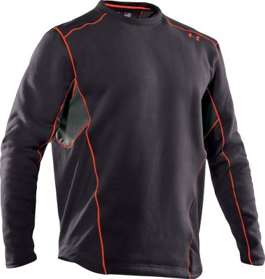 Extreme The warmest Under Armour baselayer available. Sherpa fleece-backed ColdGear fabric wicks moisture away from your skin, delivering exceptional warmth and comfort with minimal bulk. Heat-trapping, silicone-gripped hem keeps shirt from riding up. Brushback-knit inserts provide added ventilation. Fitted design with flatlock seams. Imported. Sizes: M-2XL. Colors: Black, Charcoal. - $69.99