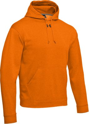 Hunting Quick-drying Under Armour polyester fabric efficiently traps warmth for supreme cool-weather comfort. Front handwarmer pocket. Imported.Sizes: S-3XL.Color: Blaze Orange. - $49.99