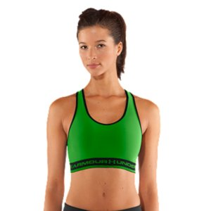 Fitness WHY WE MADE IT: Did you know that as many as 7 out of 10 women wear the wrong sports bra? One that's either too loose, too tight, or doesn't deliver the right support. It's not only uncomfortable, it kills your focus. Athletes need focus to have a good workout or a great game. So we went straight to the athletes for answers. Turns out simplicity was what makes you happy. Simplicity and superior support. And the UA Gotta Have It Sports Bra has both. The classic, pullover racerback design you've come to trust, and the signature UA Compression you've come to depend on. All wrapped up in a bold package for that unexpected color pop. Just wear under your favorite UA tank top and get moving. It's all in the name. Our Women's UA Gotta Have It Sports Bra was designed to deliver unbelievable UA athletic performance. Made for mid-impact activities, this super-snug, classic-fitting sports bra is perfect for anything from Pilates and spinning to kickboxing and light cardio. That's because its signature UA Compression fit minimizes motion and maximizes support. So you can go hard without losing your focus. Super-smooth, double-layer HeatGear(R) fabric provides superior next-to-skin feel and lasting comfortClassic pullover style with racerback for easy layering and enhanced range of motionSignature Moisture Transport System wicks sweat to keep you drySuper-soft branded elastic band delivers enhanced supportMade for mid-impact workouts like Cross Training, Elliptical, Pilates, and SpinningBest for cup sizes ranging from A, B and CPolyester/ElastaneImported - $18.99