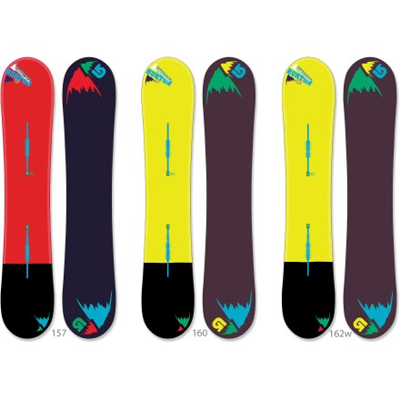 Snowboard The Burton Sherlock snowboard solves the mysteries of the deep, untracked pow. Take this board out on a freshie-filled day and enjoy the ride. - $261.83