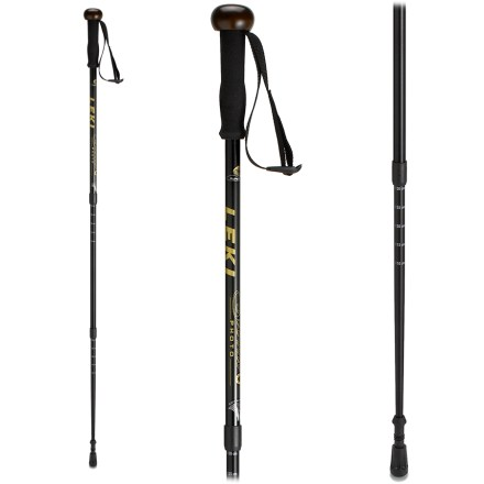 Camp and Hike Great for birders, photographers and hikers, the Leki Sierra antishock pole provides stability, comfort and durability in a single staff. - $71.93