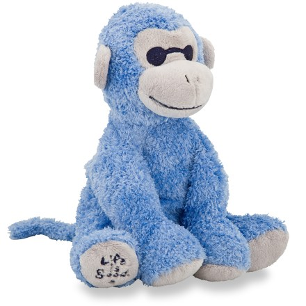 Camp and Hike An adorable symbol of happiness and loyal friendship, the Life is good(R) Plush Monkey is soft and cuddly. Made of washable microfiber. Embroidered Life is good(R) logo on foot. - $20.00