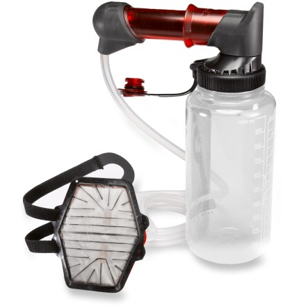 Camp and Hike You'll be blown away by how fast you can fill a water bottle with the MSR HyperFlow(TM) water filter. - $99.95