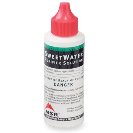 Camp and Hike Replacement SweetWater Purifier Solution for your SweetWater Purifier System--one bottle treats up to 80 gallons of tainted water. - $14.95