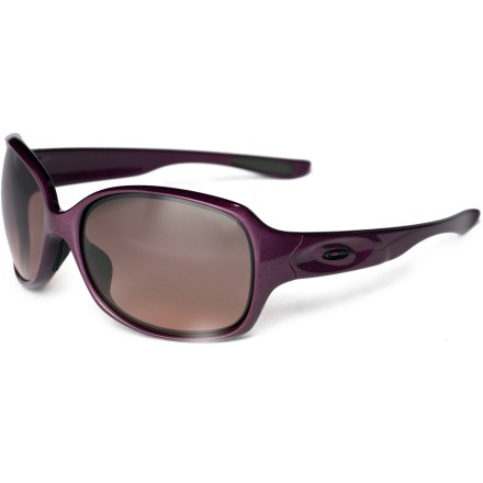 Entertainment Brighten your day with the versatile Drizzle sunglasses from Oakley-so lightweight and comfortable that you can wear them from sunrise to sunset and forget you're wearing anything at all. - $130.00