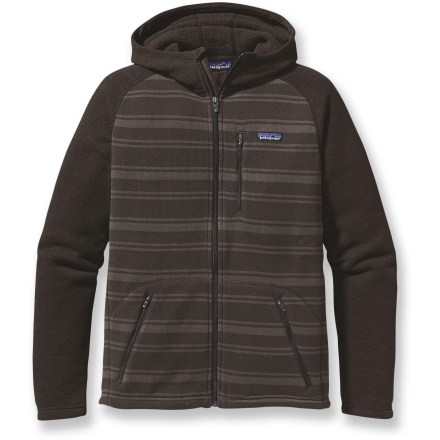Entertainment The Patagonia Better Sweater has updated styling that combines the aesthetic of a knitted, striped sweater with the easy care of polyester fleece. - $78.83