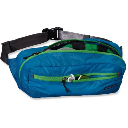 Entertainment The Lightweight Travel Hip Pack from Patagonia is like a toolbox for life's little indispensables. This lightweight, stuffable hip pack keeps everything you need for a day of discovery within reach. - $20.83