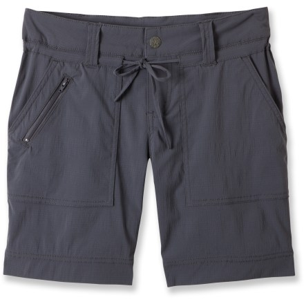 Camp and Hike The prAna Nora shorts aren't too short or too long; a 7 in. inseam and added stretch ensure comfort, coverage and ready-for-anything utility. - $16.83