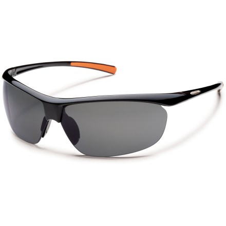 Entertainment These rimless SunCloud Zephyr polarized sunglasses are so lightweight, you'll forget they are on your face. - $49.95