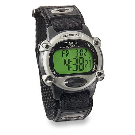 Entertainment Keep up with your active life-this multi-function watch features three programmable alarms and a Fast Wrap(TM) watch strap for quick on/off. - $49.95
