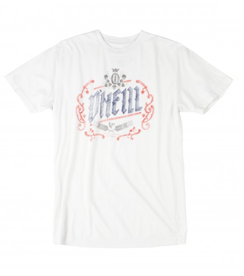 Surf O'Neill Shuffleboard Tee.  100% Cotton.  Screenprint. - $17.99