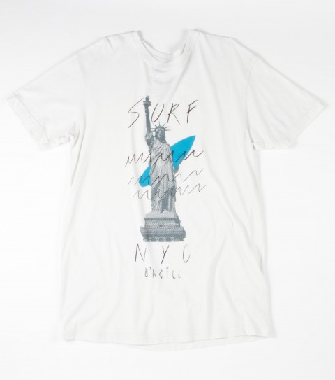 Surf O'Neill Liberty Tee. 100% Cotton.  Screenprint. - $22.00