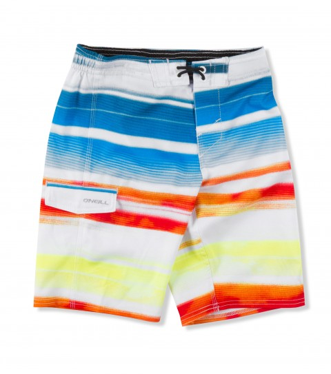 Surf O'Neill Kids Passion Boardshorts.  Epicstretch; boardshort features superfly closure; sideseam piping; side pocket; woven patch and screened logos. - $44.50