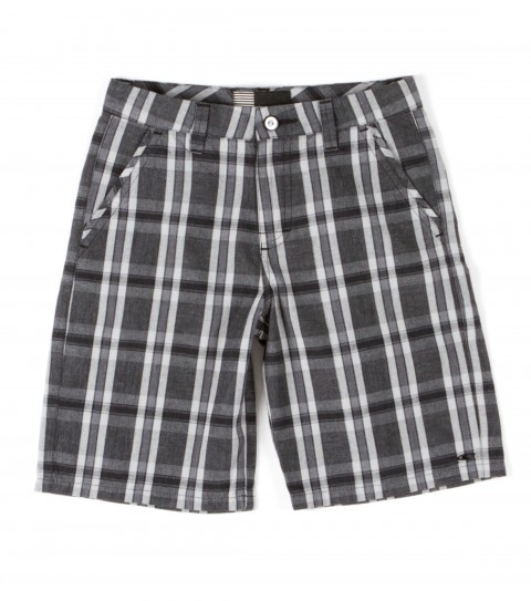 Surf O'Neill Vernon Shorts.  100% Cotton.  Yarn dye plaid walkshort with silicone wash. Standard fit with novelty buttons; logo labels and embroideries. - $42.00