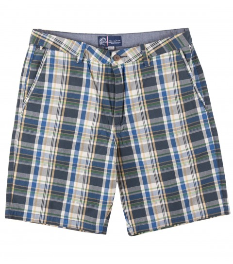 "Surf Jack O'Neill Birdland Shorts.  100% Cotton yarn dye plaid short. Heavy launder on this short allows for instant comfort; while the easy to wear plaid pattern allows for versatility with your favorite tee or polo. 20"" outseam lands slightly above knee. - $52.99"