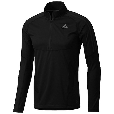 Fitness Free Shipping. Adidas Men's TS Half Zip LS Shirt DECENT FEATURES of the Adidas Men's TS Half Zip LS Shirt Cocona activated carbon Ultimate in evaporative clothing, odor management, and UV protection (50+ SPF) 25% wool 1/2 for ventilation Concealed thumbloop construction, invisible when not in use Slim Fit The SPECS Weight: 5.5 oz / 155 gm - $49.95