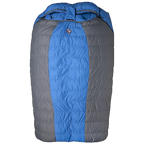 Camp and Hike Free Shipping. Big Agnes King Solomon 15 Degree Sleeping Bag DECENT FEATURES of the Big Agnes King Solomon 15 Degree Sleeping Bag Designed for two people Integrated full pad sleeve design Rectangular shaped bags Extra 2in./5cm of length in foot box: King Solomon, Big Creek and Cabin Creek Zipper on each side Pillow pockets Liner loops Mesh storage sack and nylon stuff sack No-draft collar, No-draft wedge, No-draft zipper, No-draft center flap The SPECS Capacity: 2 Person Temperature Rating: 15deg F / -9deg C Fill Type: 600 Down Fill Weight: 32 oz / 900 g Bag Weight: 5 lbs / 2268 g Stuff Sack Size: XL: 10 x 21in. / 25 x 53 cm Compressed Size: 10 x 10in. / 25 x 25 cm Fits Up To: 6' 2in./ 188 cm Pad Size: 2-20 x 72in./ 51 x 183cm Nylon Micro-fiber rip-stop fabric Nylon lining - $399.95
