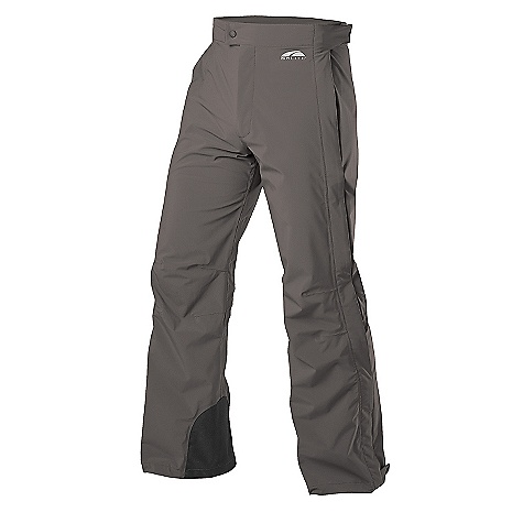On Sale. Free Shipping. GoLite Men's Paradigm Pant (Spring 2008) Offering the comfort of a soft shell with the protection of a storm shell, the Paradigm pants are the epitome of comfort, protection, and style for back country outings. Featuring GoLite's award-winning Trinity fabric, the Paradigm pants feature scuff guards, full two-way water resistant side zips, articulated knees for freedom of movement, two water-resistant zippered front pockets, a thigh security pocket, and adjustable Velcro waist tabs for superior fit. Features: Trinity 3-Layer fabric: stretch, waterproof, breathable Taped seams Full, 2-way water resistant side zippers Invisible zippered rear pocket 2 on-seam water-resistant zippered front pockets Scuff guard Adjustable tabs on hem Adjustable Velcro waist tabs Snap front with zippered fly Articulated knees Thigh pocket - $79.99