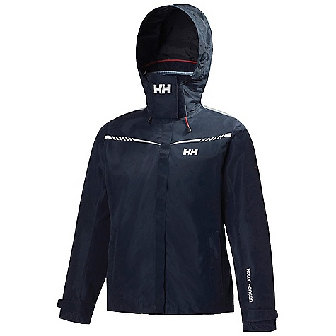 Free Shipping. Helly Hansen Women's HP Bay Jacket DECENT FEATURES of the Helly Hansen Women's HP Bay Jacket Helly Tech Protection 2 layer lined construction Hip length, feminine fit Polartec fleece collar Adjustable tonal hood PU inner cuff Solas reflectives Hand warmer pockets Adjustable cuffs One-hand adjustable hem Hanger hook Kill cord D-ring The SPECS Regular fit 100% Polyester This product can only be shipped within the United States. Please don't hate us. - $199.95