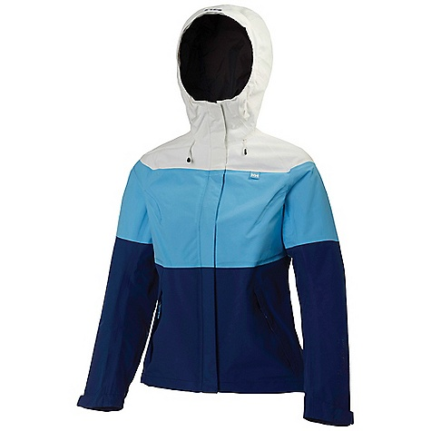 Free Shipping. Helly Hansen Women's Vancouver Tricolor Jacket DECENT FEATURES of the Helly Hansen Women's Vancouver Tricolor Jacket Helly Tech Performance 2ply construction Quick-dry mesh liner Front storm flap YKK front zipper Full time hood One hand hood adjustments YKK zipped hand pockets Adjustable cuffs Bottom hem Cinch cord Anti-chafe chin guard DWR Treatment The SPECS Regular fit Weight: 465 g 100% Polyamide This product can only be shipped within the United States. Please don't hate us. - $129.95