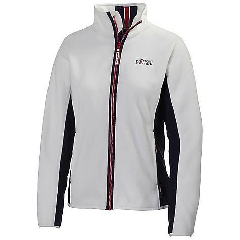 Free Shipping. Helly Hansen Women's HP Fleece Jacket DECENT FEATURES of the Helly Hansen Women's HP Fleece Jacket Polartec 200 gram classic fleece Fixed hood Full front zip Zipped pockets Fitted YKK zippers HH stripe detailing Side panels HH logo on chest Seasonal HH graphics The SPECS Fitting: Fitted 100% Polyester This product can only be shipped within the United States. Please don't hate us. - $119.95