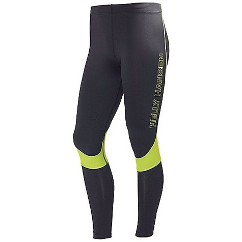Free Shipping. Helly Hansen Men's Pace Tights 2 Pant DECENT FEATURES of the Helly Hansen Men's Pace Tights 2 Pant Supportive main stretch fabric Mesh panels behind knees Pocket with zip in the back Zip at bottom of each leg Reflective details The SPECS Fitting: Fitted 83% Polyester, 17% Elastane This product can only be shipped within the United States. Please don't hate us. - $79.95