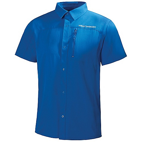 Free Shipping. Helly Hansen Men's Odin SS Shirt DECENT FEATURES of the Helly Hansen Men's Odin Short Sleeve Shirt Quick dry fabric Polyester UPF 35+ Buttoned short sleeve shirt Zipped chest pocket Regular fit Helly Hansen logo on chest Odin logo on sleeve The SPECS Regular fit Fabric Weight: 135 g/m2 100% Polyester This product can only be shipped within the United States. Please don't hate us. - $64.95