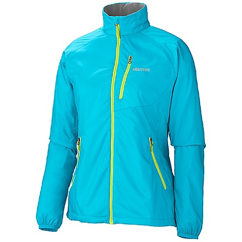 On Sale. Free Shipping. Marmot Women's Stride Jacket DECENT FEATURES of the Marmot Women's Stride Jacket Wind Resistant, Water Repellent, and Breathable DriClime Bi-Component Wicking Lining Interior Pocket DriClime Lined Collar and Chin Guard Elastic Cuffs Reflective Logos Angel-Wing Movement The SPECS Weight: 8.8 oz / 249.5 g Center Back Length: 26in. Fit: Regular 100% Polyester Ripstop DWR 1.5 oz/yd - $79.96