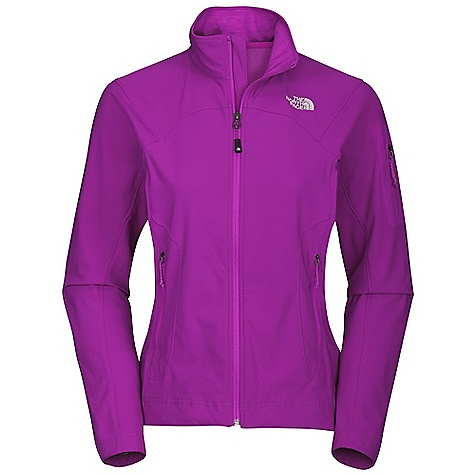 On Sale. Free Shipping. The North Face Women's Apex Elixir Jacket DECENT FEATURES of The North Face Women's Apex Elixir Jacket Alpine fit TNF Apex Aerobic soft shell fabric wind permeability rated at 10 CFM Patch on bicep pocket Reverse coil zips Two hand pockets Hidden hem cinch-cord at center front zip The SPECS Average Weight: 11.8 oz / 400 g Center Back: 25in. Fabric: 75D 142g/m2 (4.19 oz/yd2) 100% polyester TNF Apex Aerobic This product can only be shipped within the United States. Please don't hate us. - $59.99