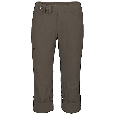Free Shipping. The North Face Women's Arches Pant DECENT FEATURES of The North Face Women's Arches Pant Midweight, abrasion-resistant soft shell with four-way stretch DWR finish Quick-drying Elastic waist with unique closure system Gusset at crotch Harness-friendly Zip utility pocket Articulation at knees Leg roll-up feature The SPECS Average Weight: 11.3 oz / 320 g Inseam: short: 29.5in., regular: 32in. 175 g/m2 88% nylon 12% elastane This product can only be shipped within the United States. Please don't hate us. - $84.95